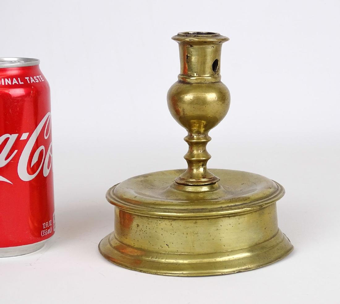 17th c. Brass Candlestick