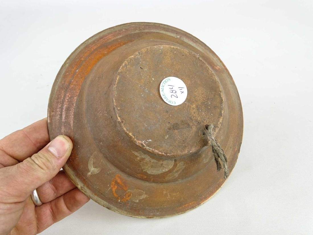 Redware Plates - 10