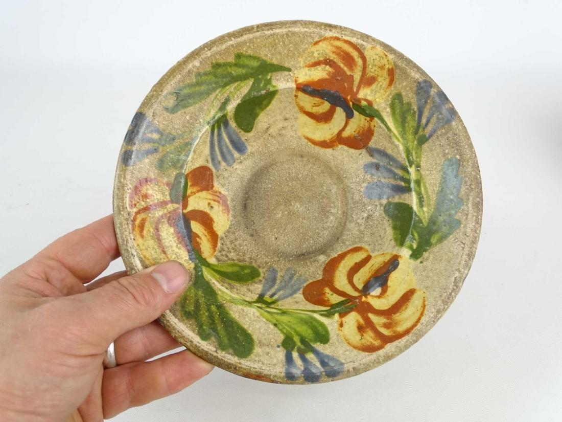 Redware Plates - 8