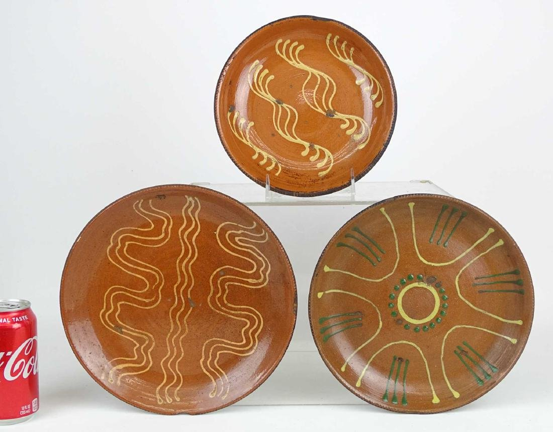 Redware Plates