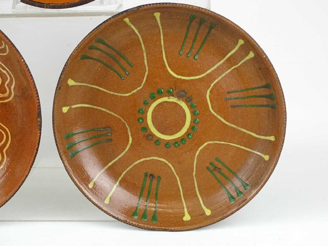 Redware Plates - 3
