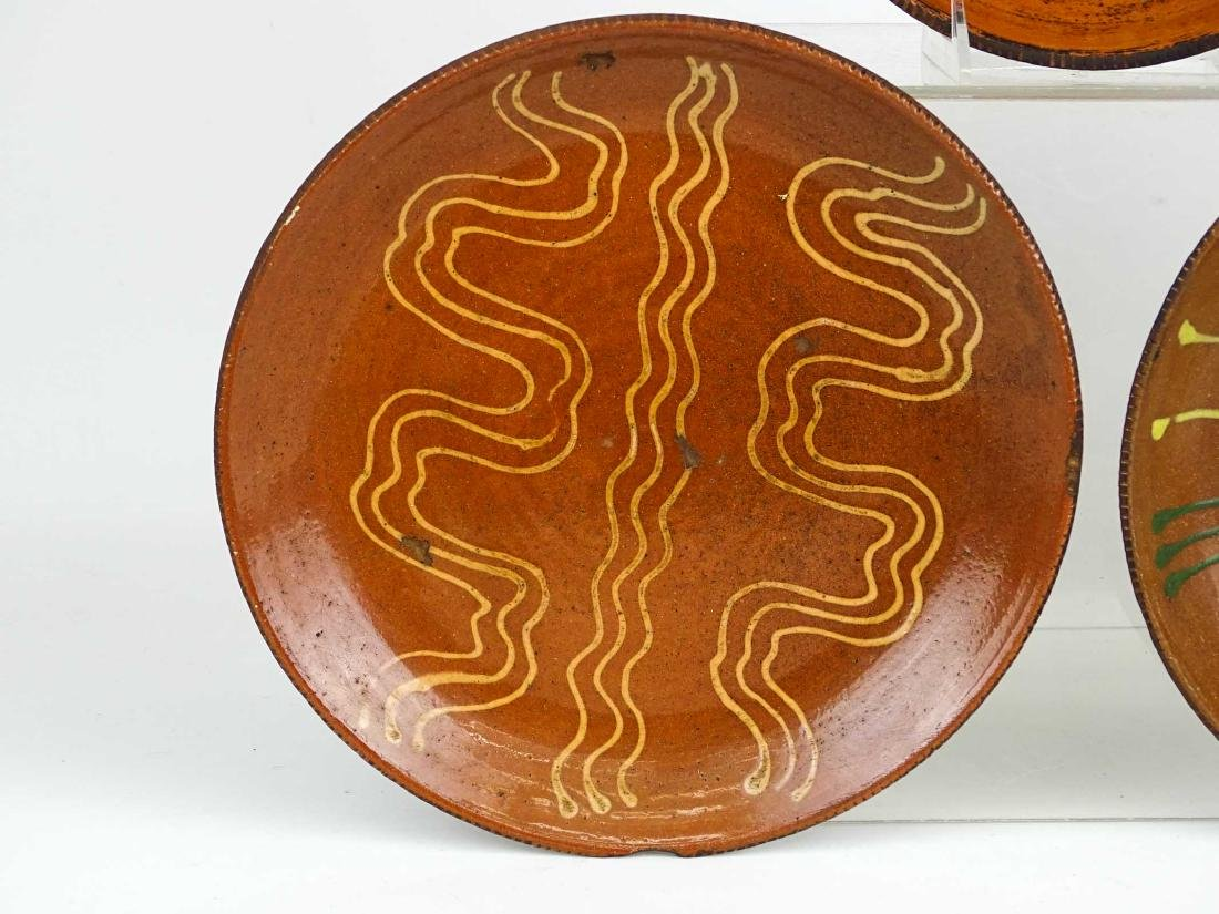 Redware Plates - 4