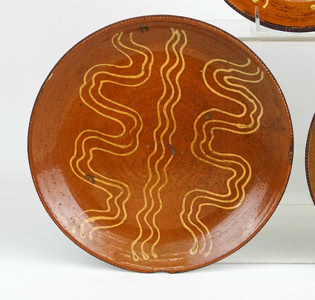 Redware Plates - 6