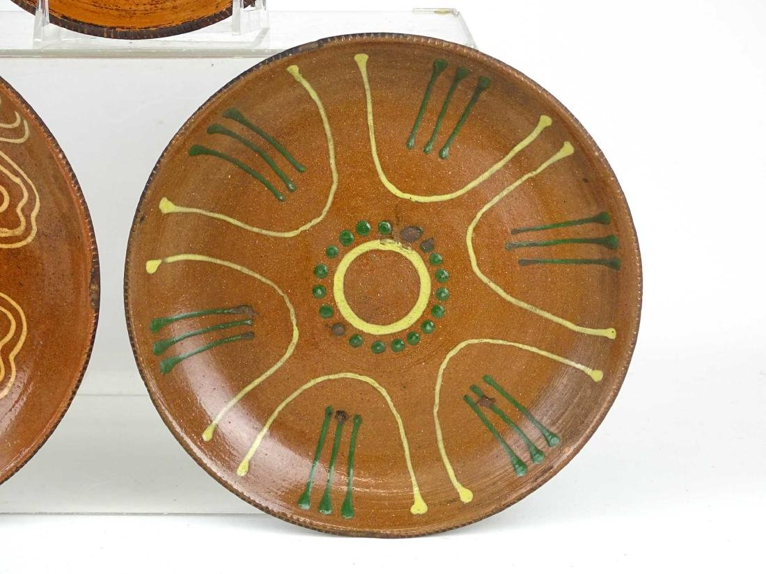 Redware Plates - 7