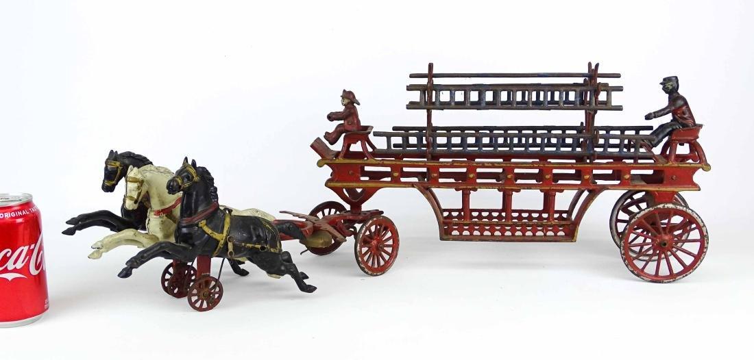 Cast Iron Fire Truck