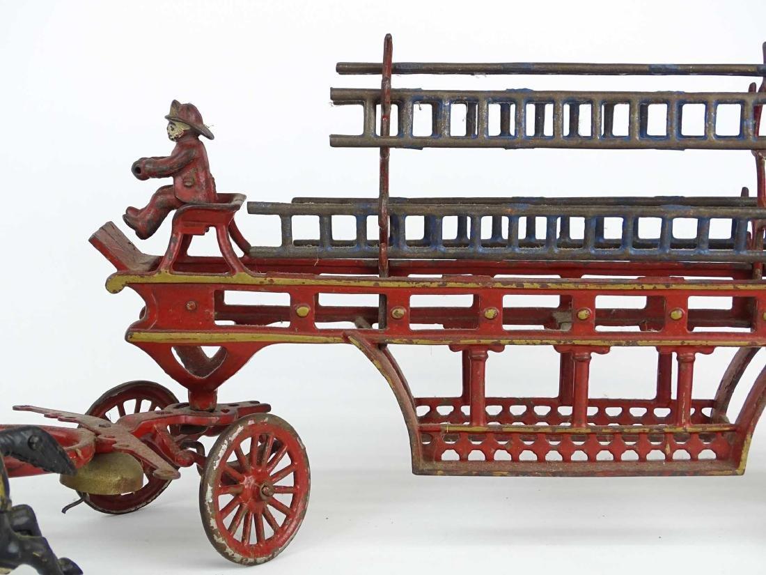 Cast Iron Fire Truck - 3
