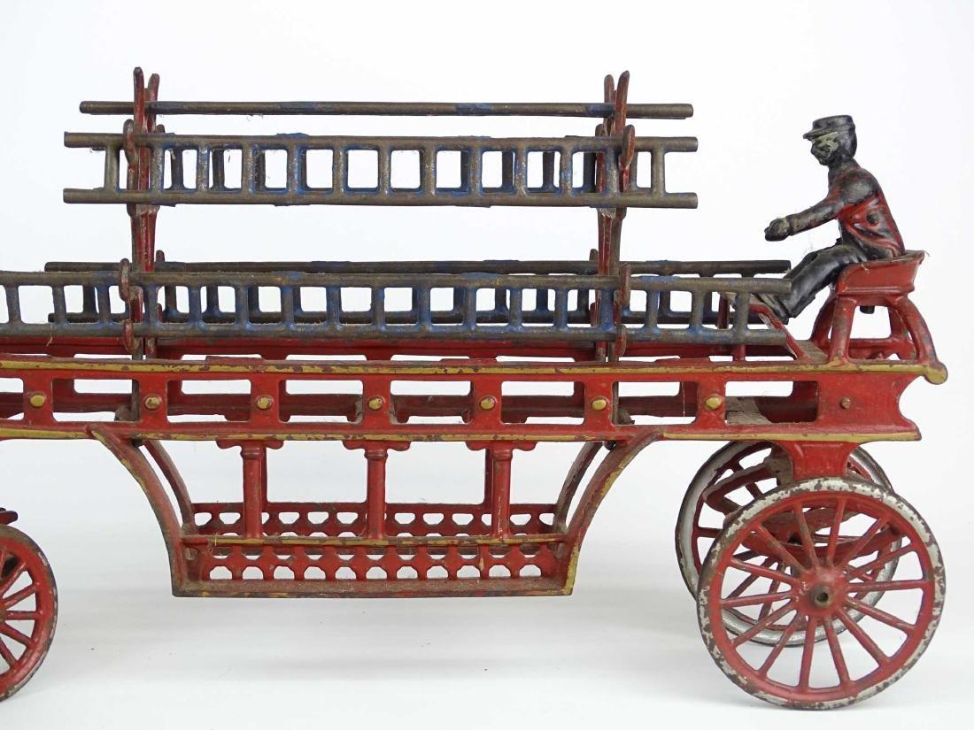 Cast Iron Fire Truck - 4