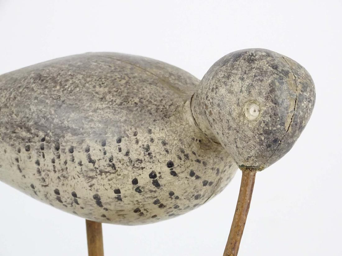 Folk Art Carved Bird - 3