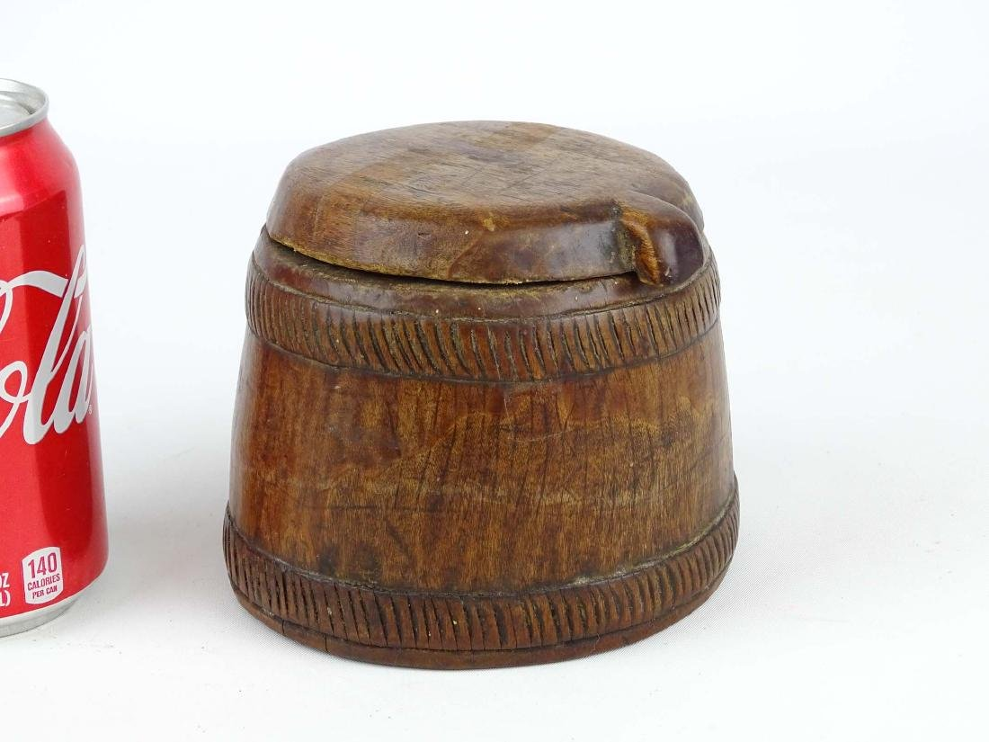 Carved Wooden Container