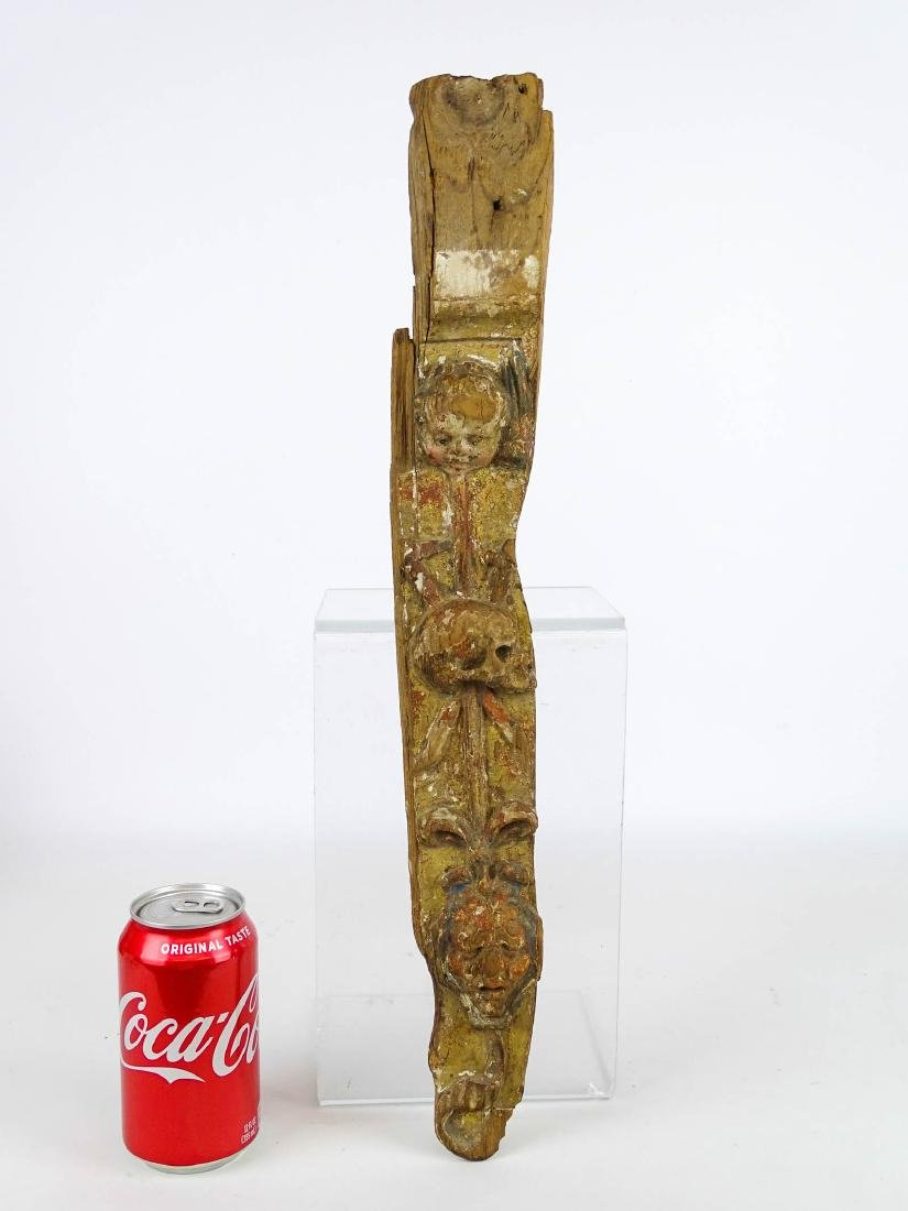 Early Carved Wooden Remnant