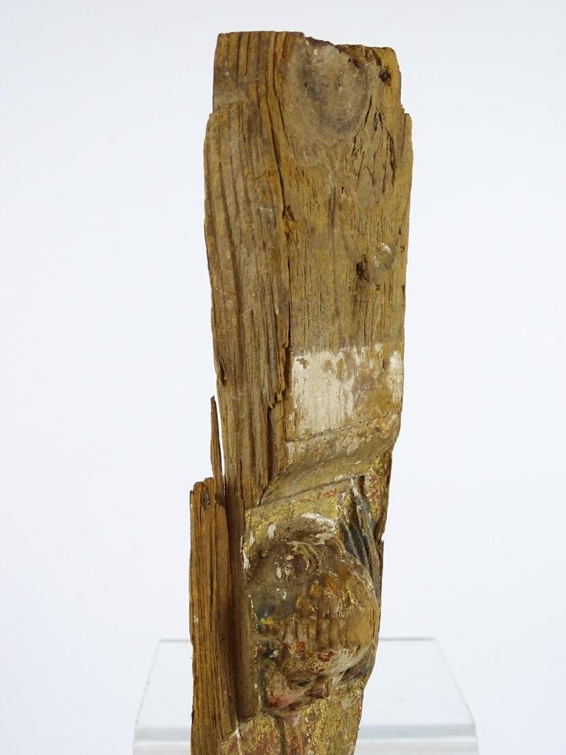 Early Carved Wooden Remnant - 5