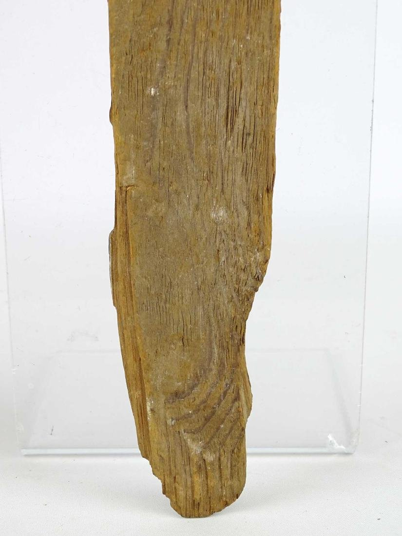 Early Carved Wooden Remnant - 7