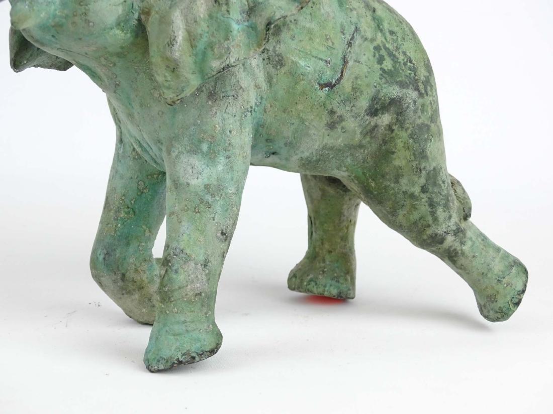 Bronze Elephant Sculpture - 3
