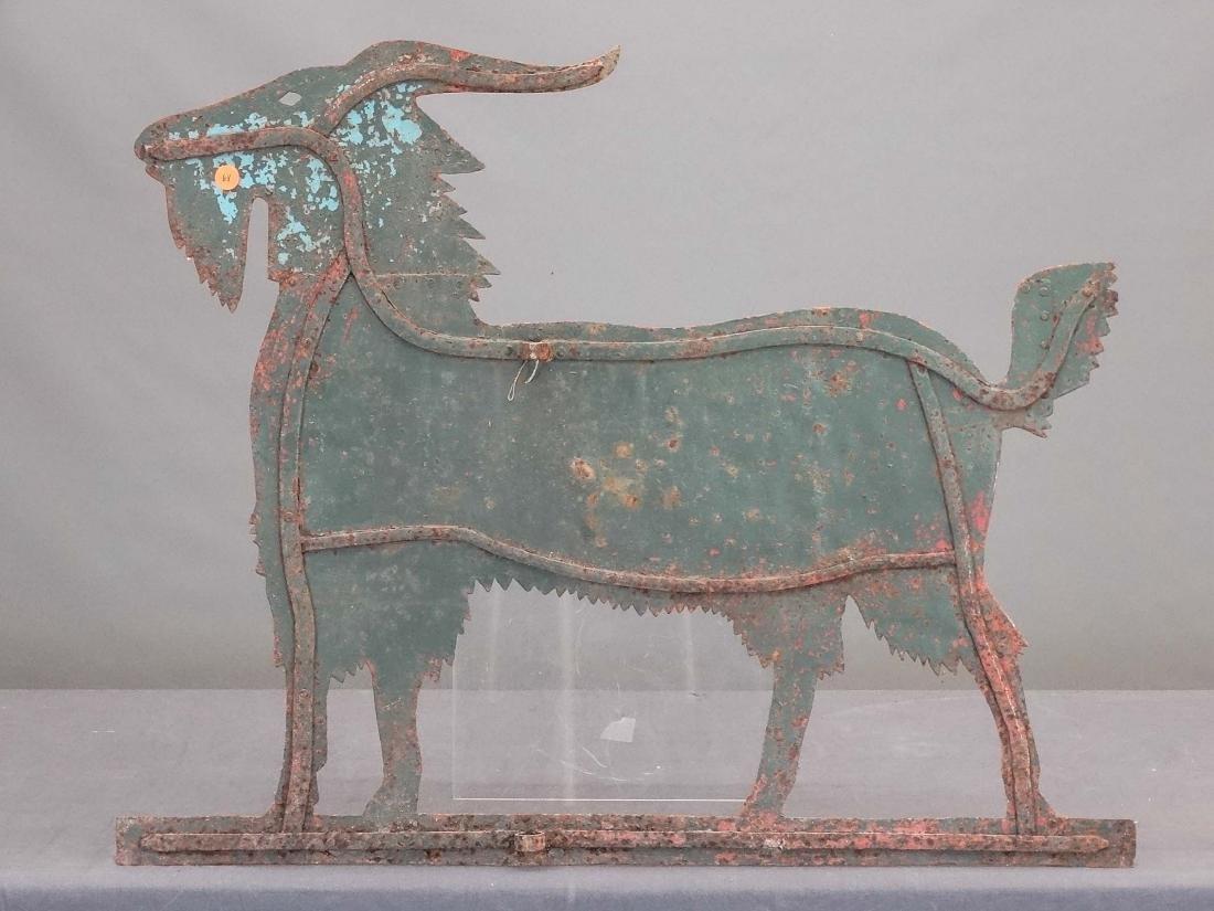 Sheet Metal Goat Weathervane - 4