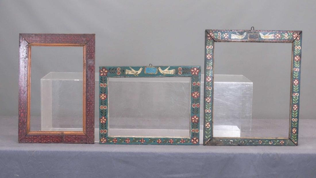 19th c. Folk Art Frames
