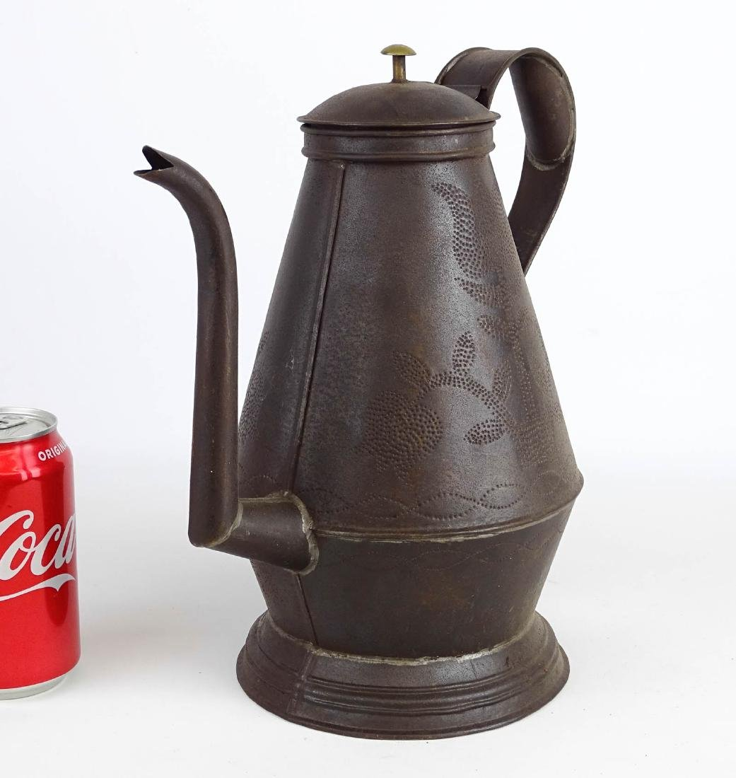 Punched Tin Teapot