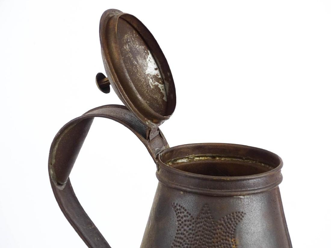 Punched Tin Teapot - 5