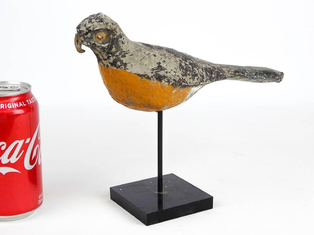Carved Stone Folk Art Bird