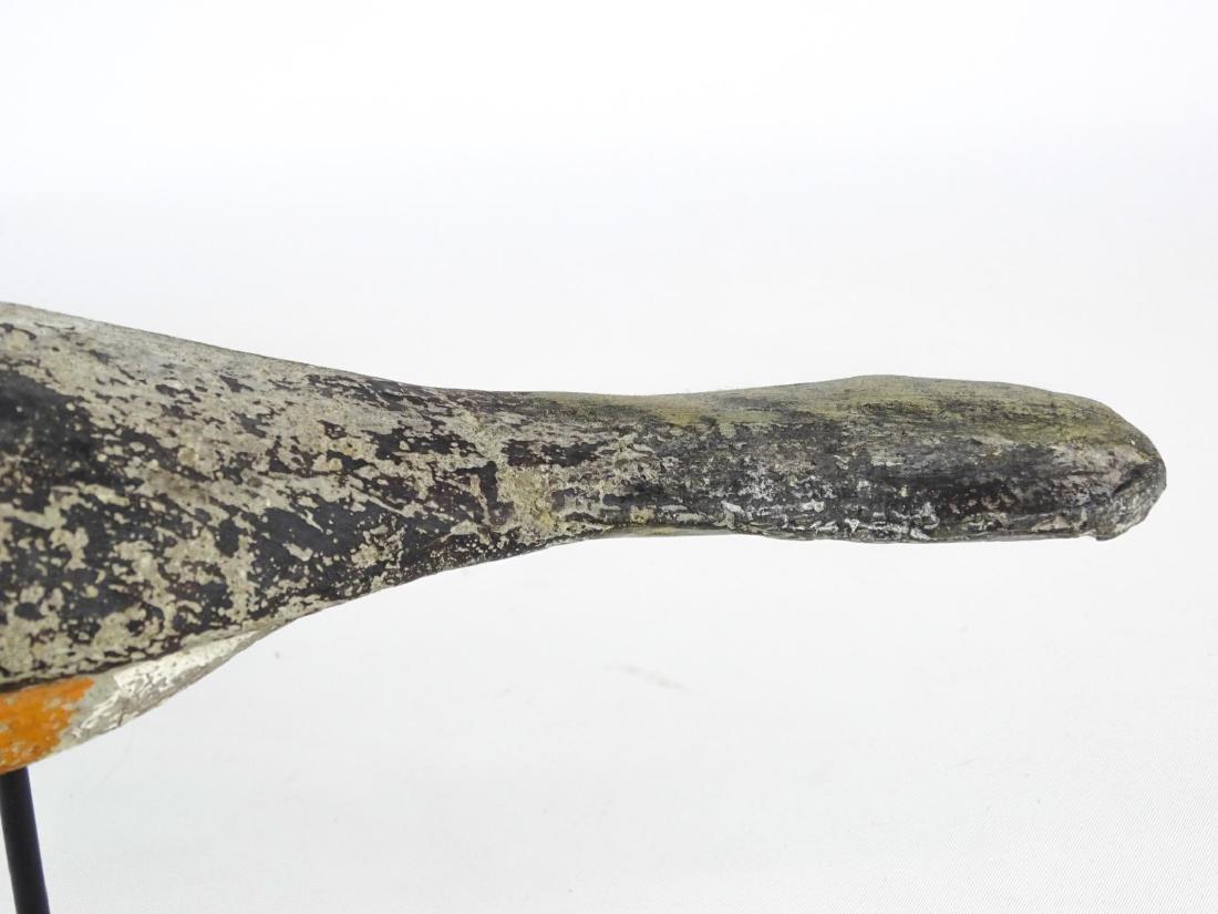 Carved Stone Folk Art Bird - 3