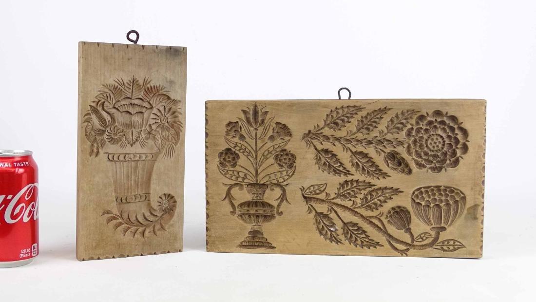 Folk Art Wooden Molds