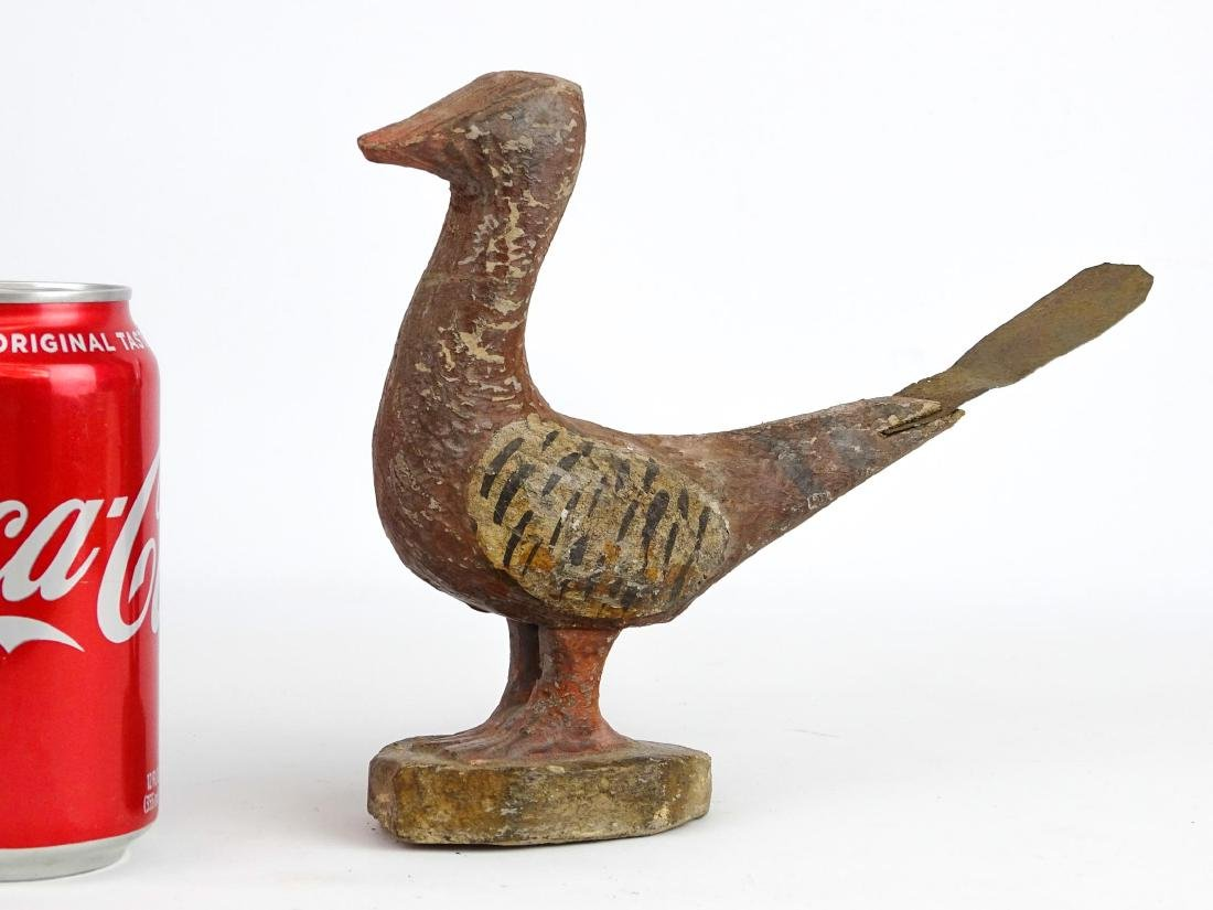 Folk Art Carved Bird