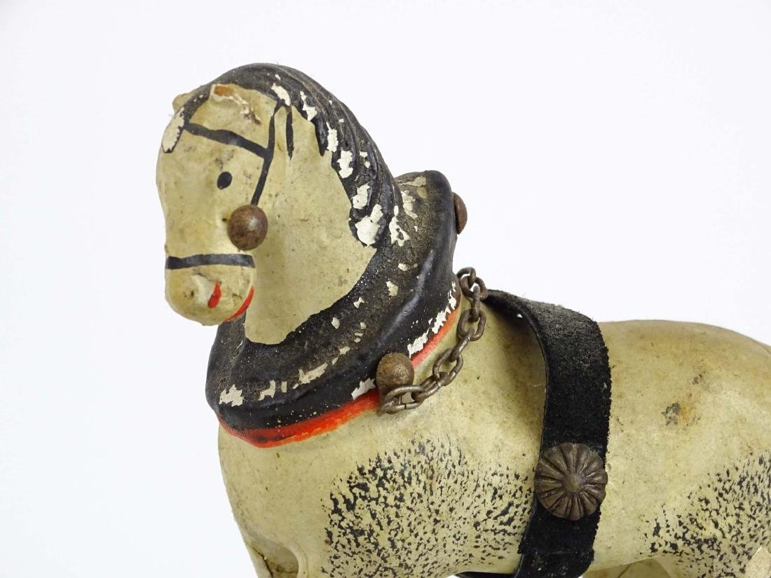 Composition Horse Pull Toy - 2