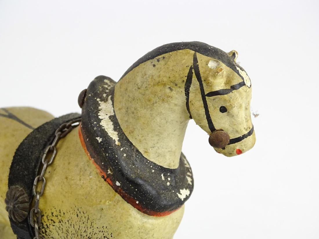 Composition Horse Pull Toy - 6