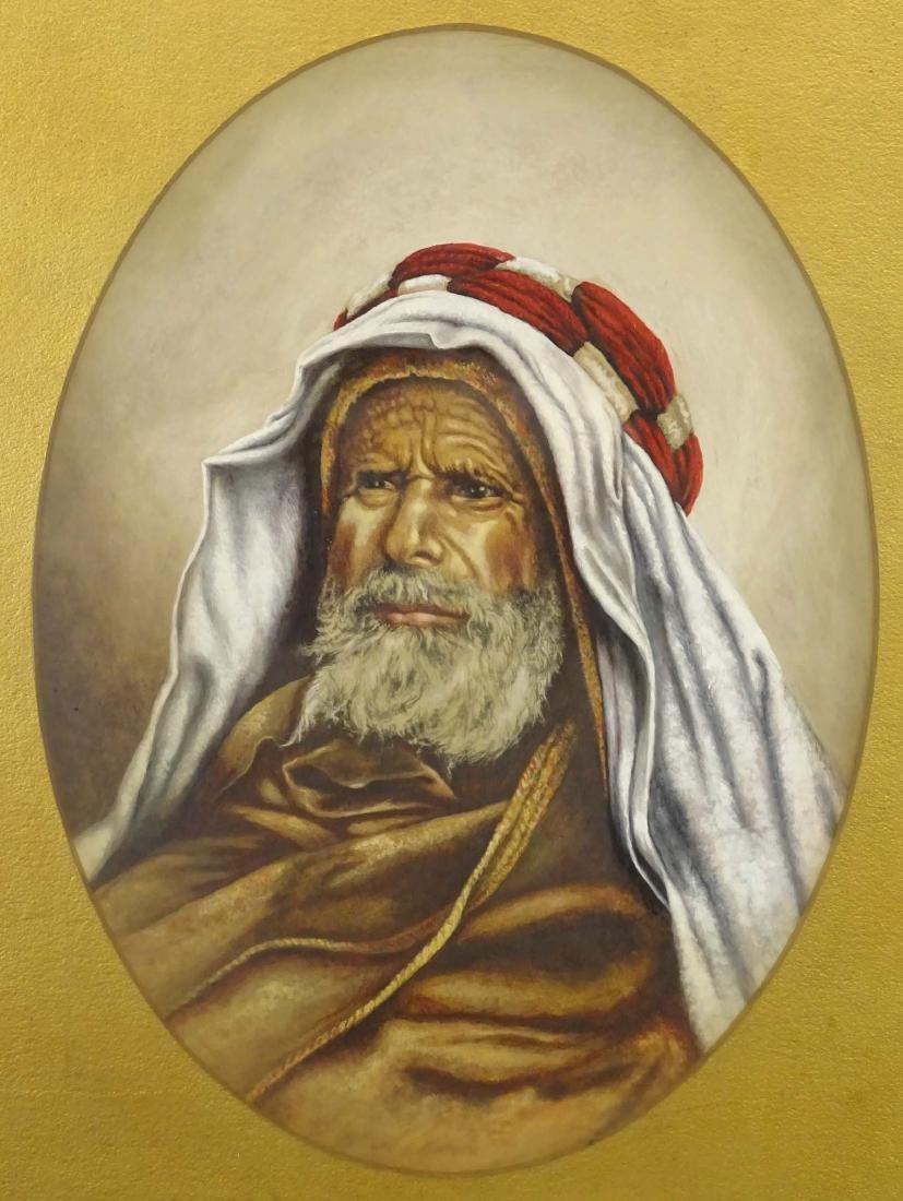 Orientalist School, 19th c. Portrait Of A Man - 2