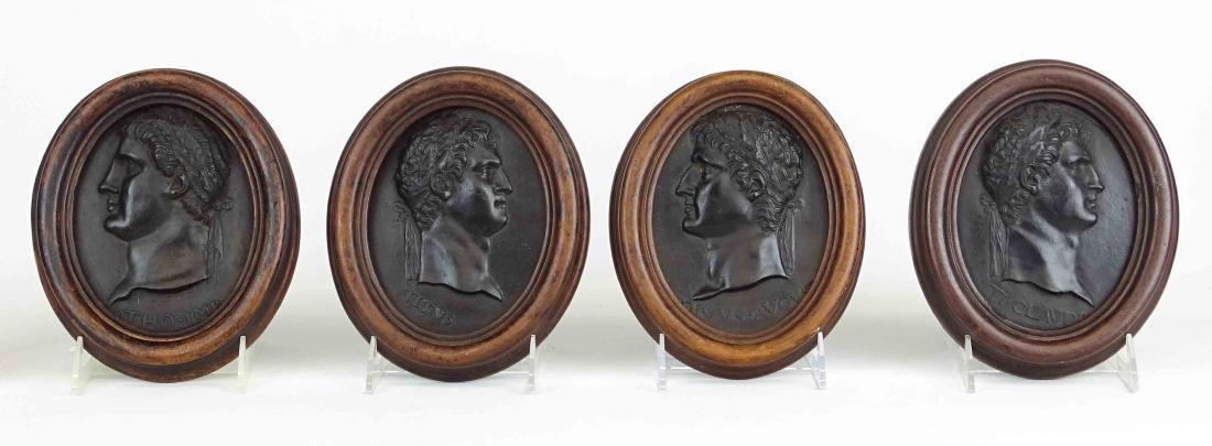 Roman Portrait Relief Medallions