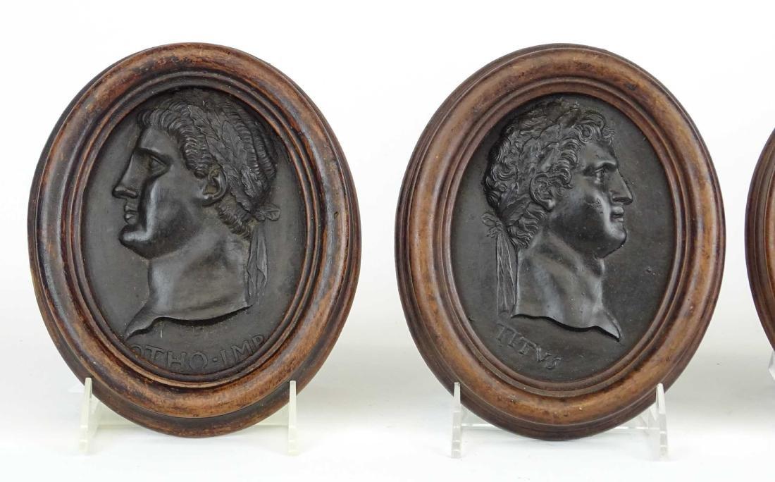 Roman Portrait Relief Medallions - 2