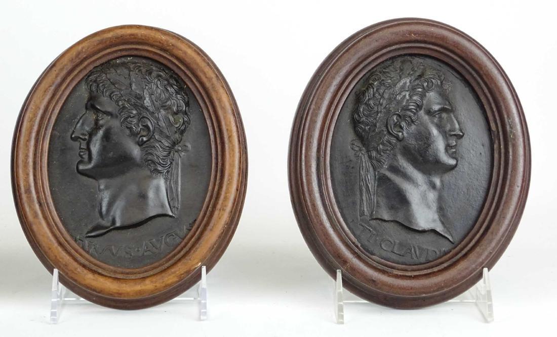 Roman Portrait Relief Medallions - 3