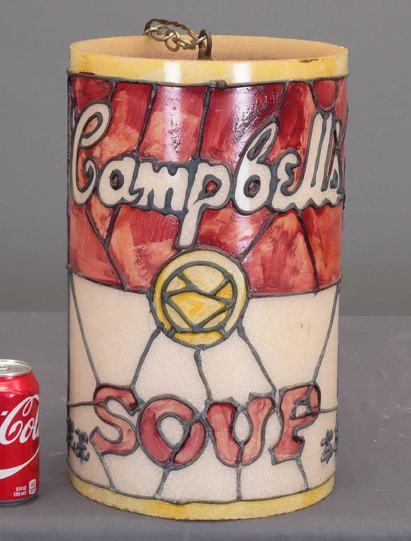 Vintage Campbell Soup Lantern