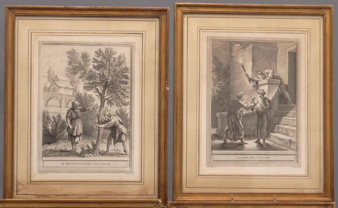 La Fontaine, Set (13) Jean-Baptiste Prints - 2