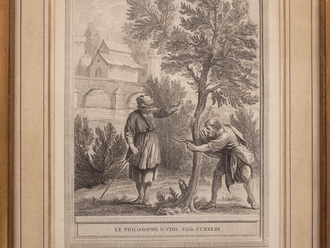 La Fontaine, Set (13) Jean-Baptiste Prints - 3