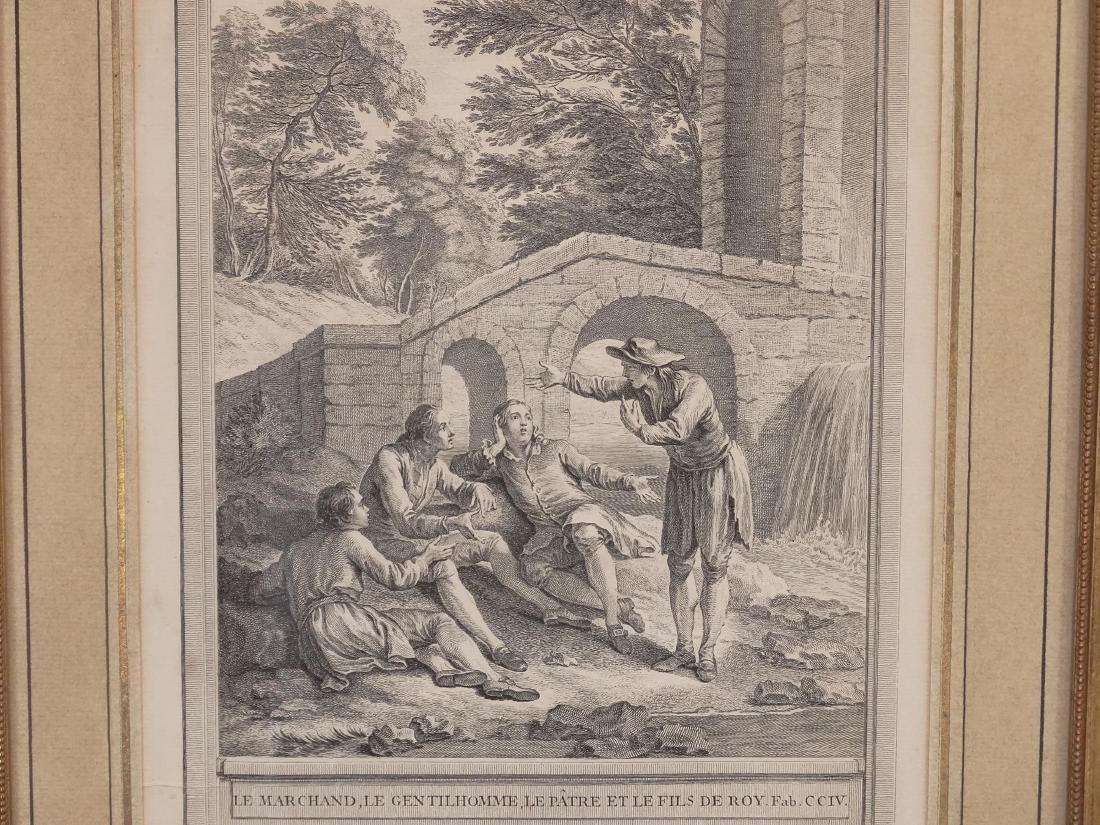 La Fontaine, Set (13) Jean-Baptiste Prints - 7