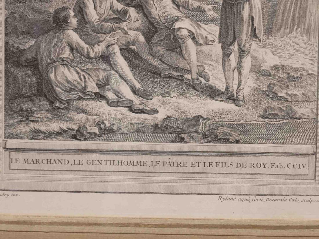 La Fontaine, Set (13) Jean-Baptiste Prints - 8