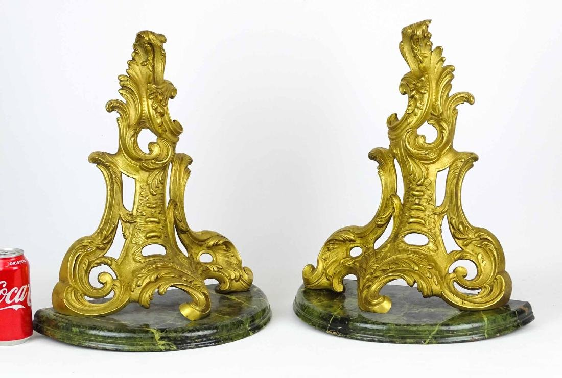 Rococo French Gilt Bronze Brackets