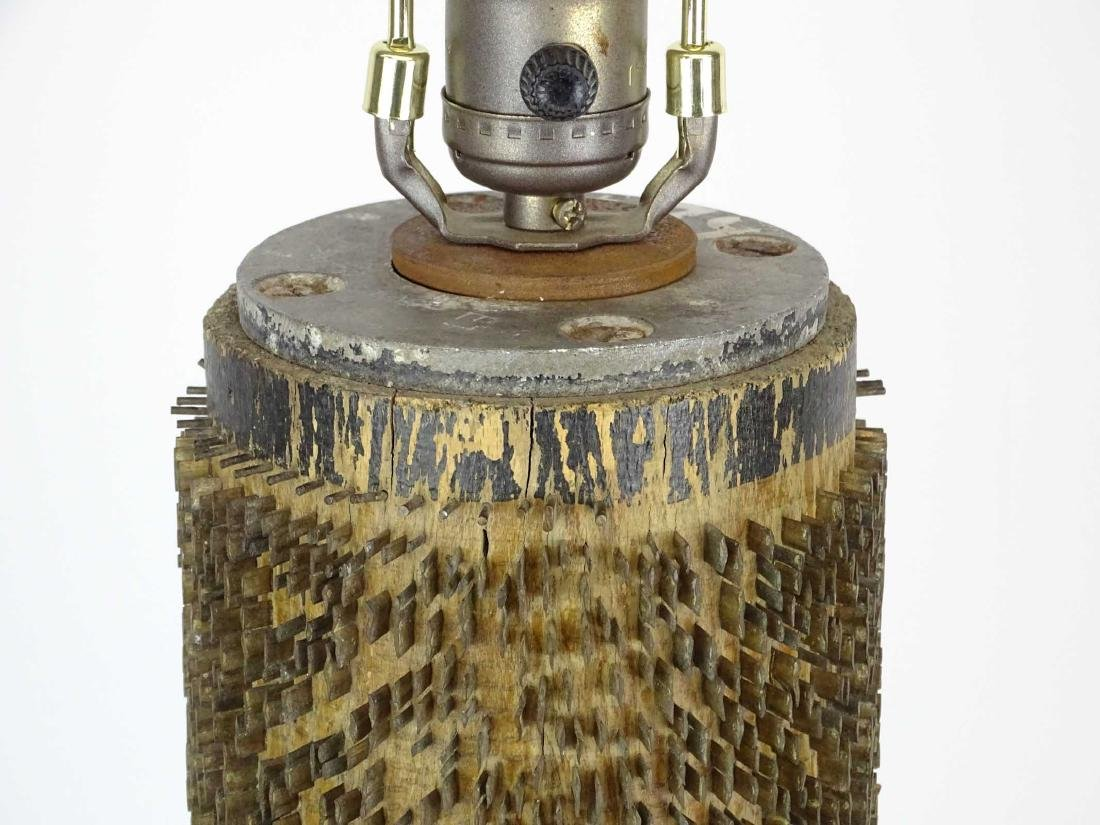 Brutalist Vintage Lamp - 2