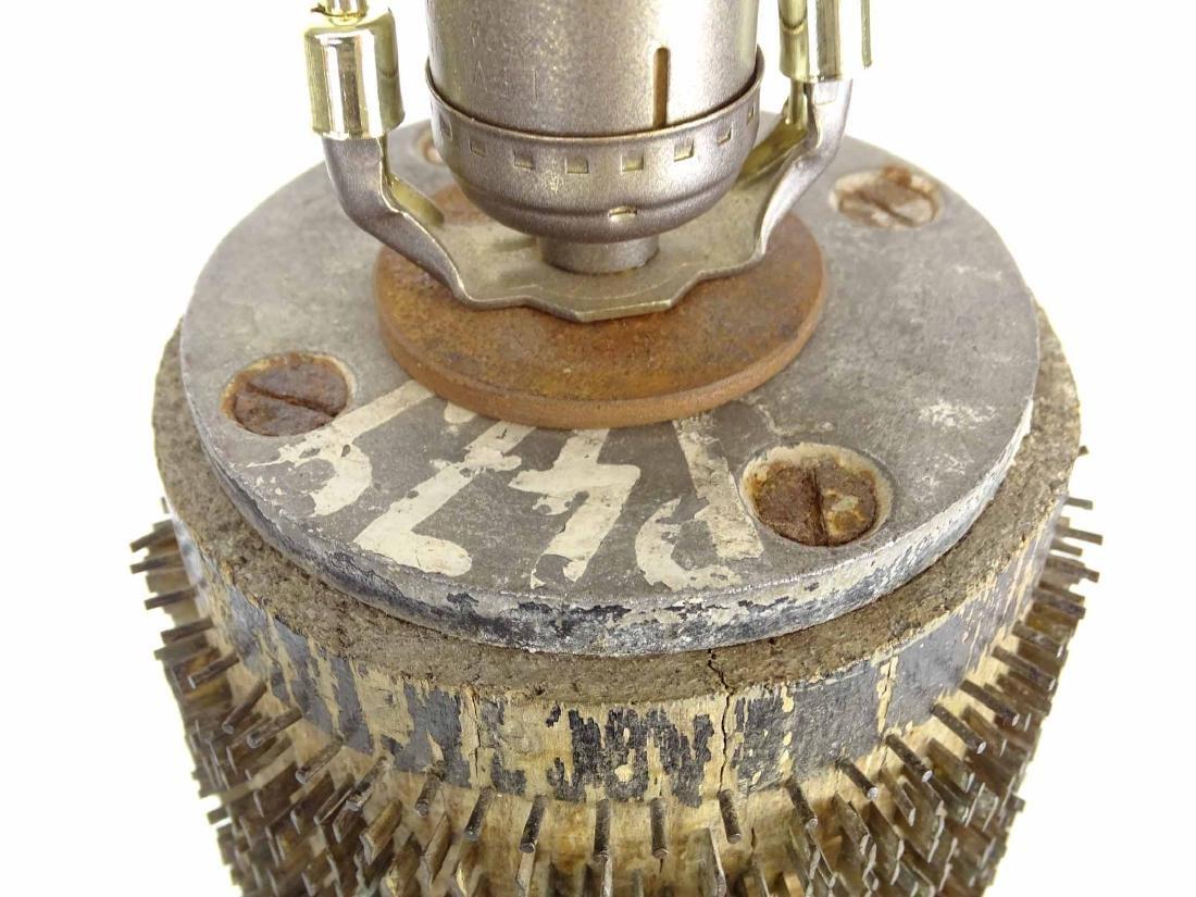 Brutalist Vintage Lamp - 5