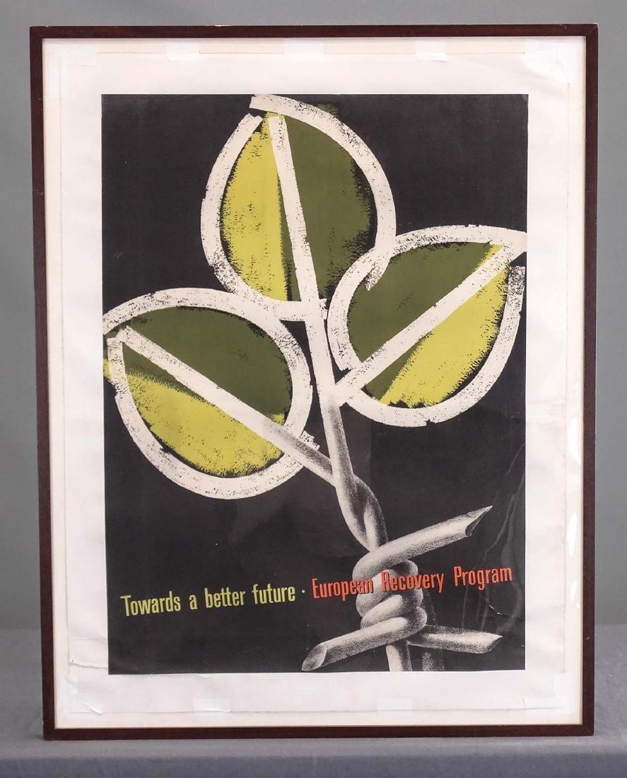 Poster: European Recovery Program