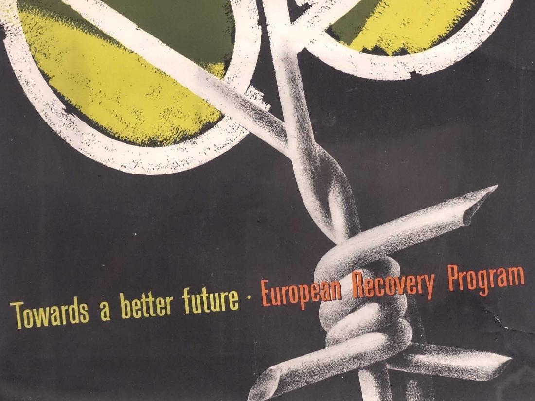 Poster: European Recovery Program - 3