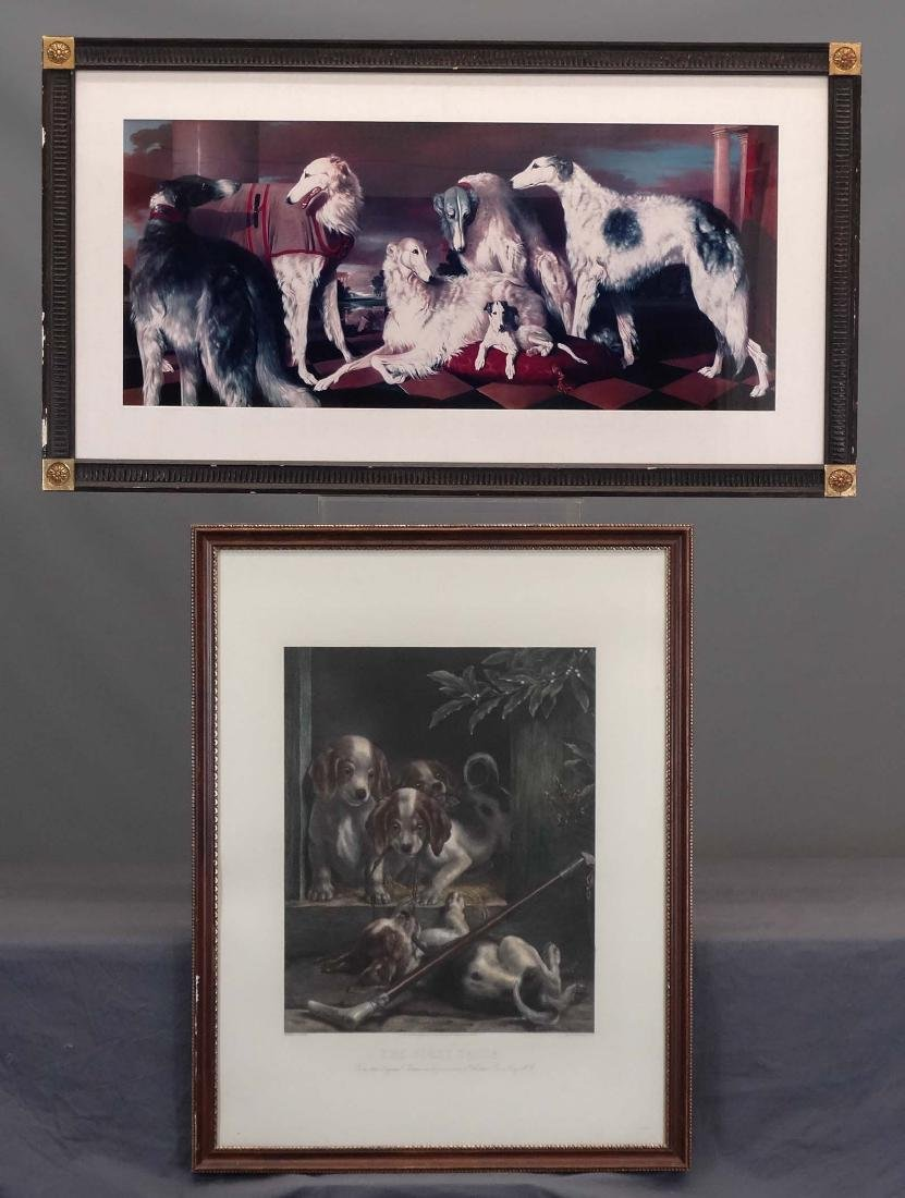 Pair Dog Prints