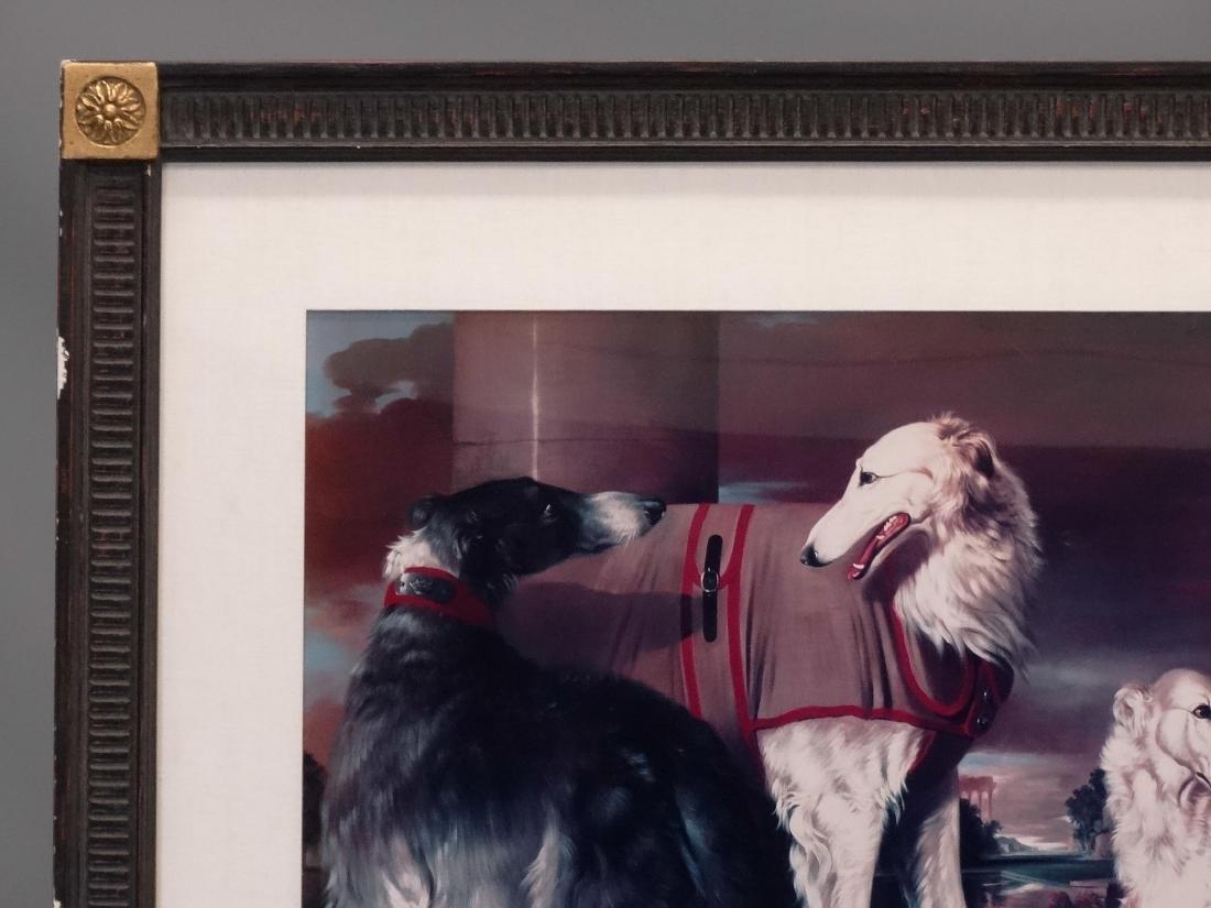 Pair Dog Prints - 2