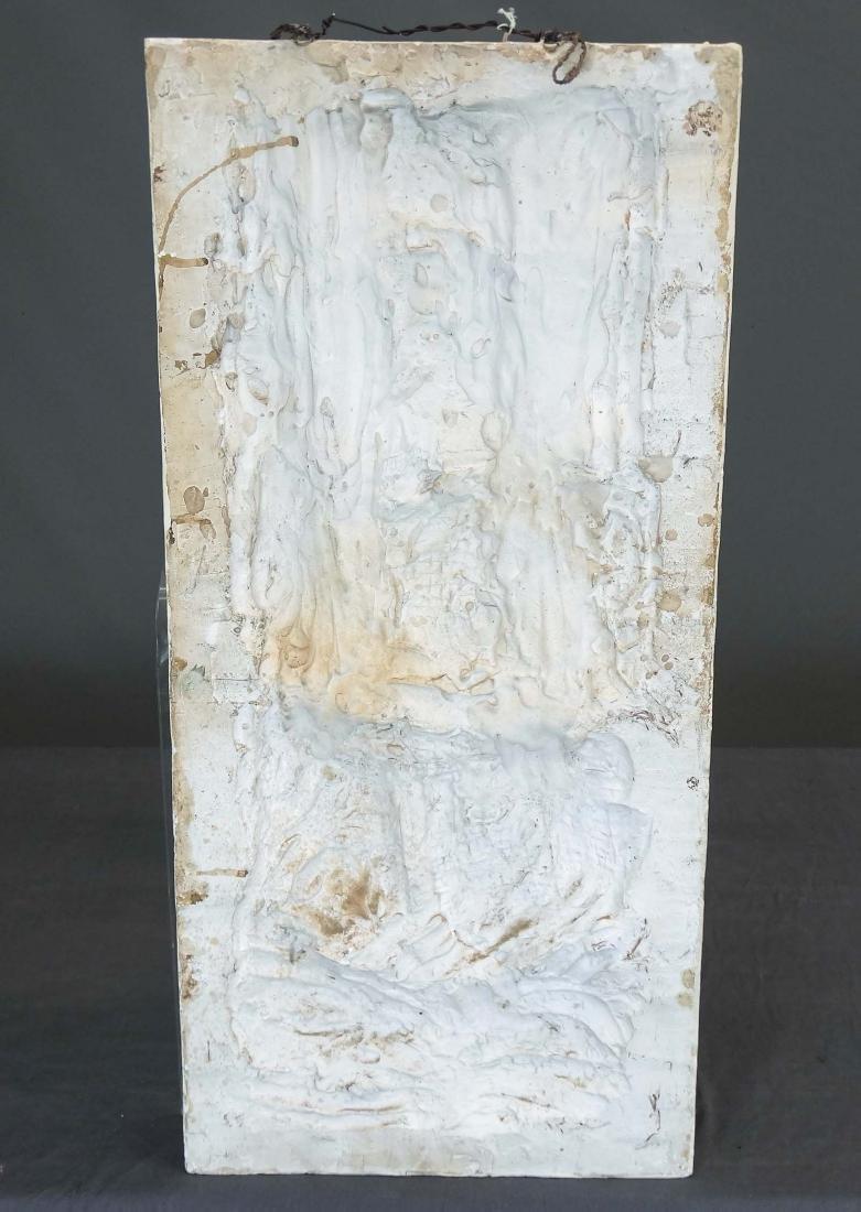 Pair Art Deco Plaster Plaques - 10