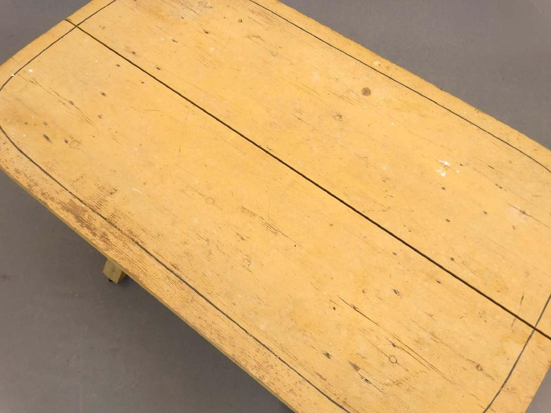 19th c. Sawbuck Table - 2