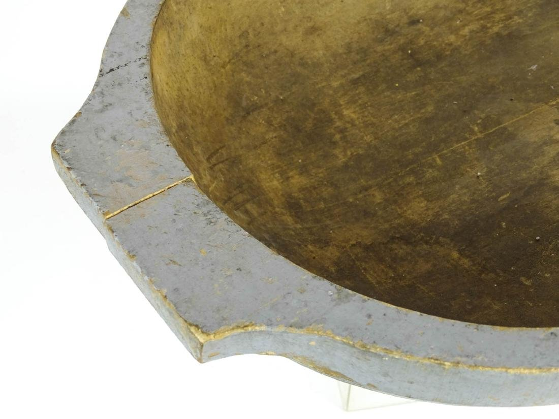 19th c. Trencher Bowl - 3