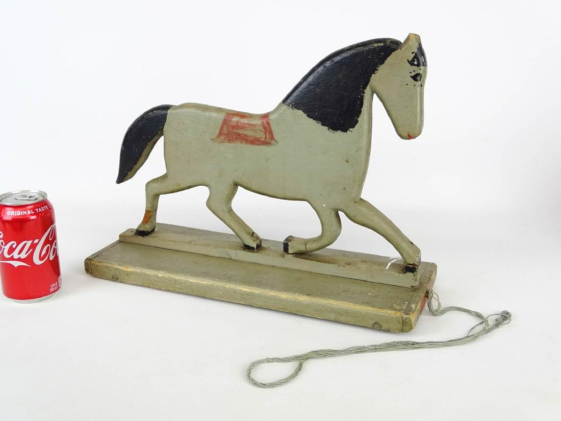 Early Horse Pull Toy