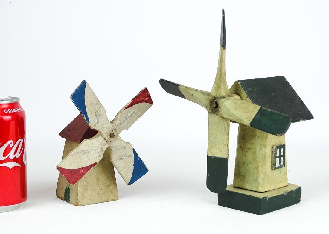 Folk Art Windmills