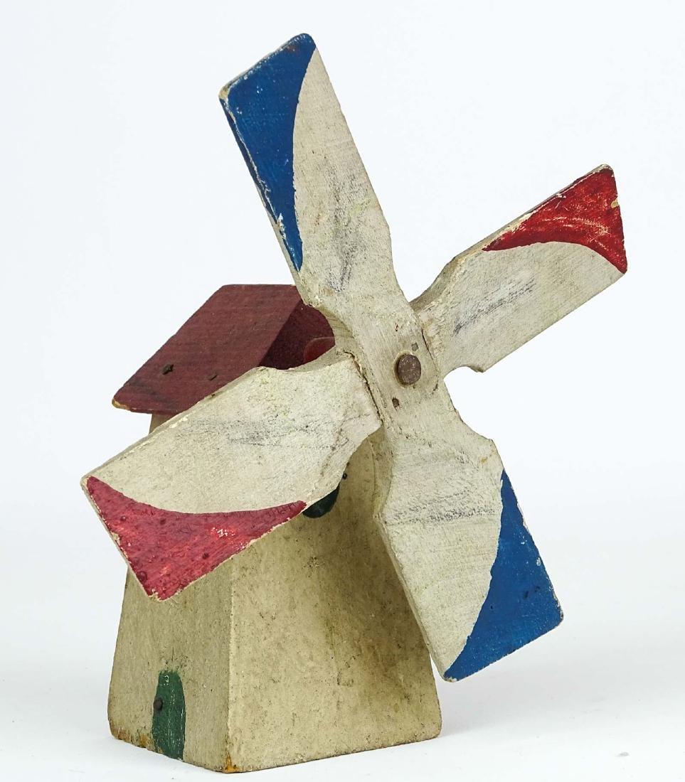 Folk Art Windmills - 3