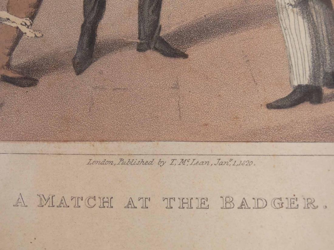 Pair Early English Sporting Prints - 4